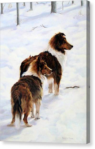 Canvas Print - The Little Sentinels by Sandra Chase