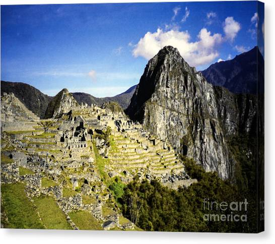 The Lost City Canvas Print