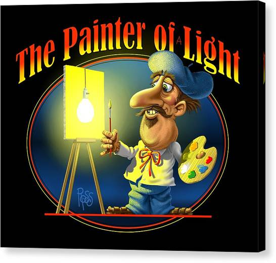 The Painter Of Light Canvas Print