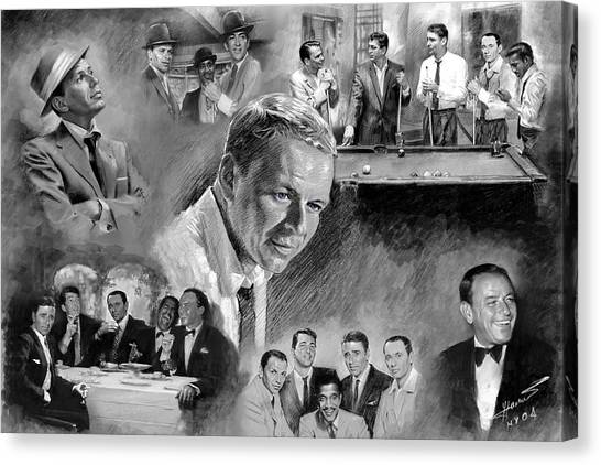 Bishops Canvas Print - The Rat Pack  by Viola El