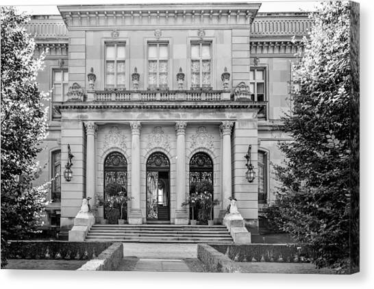 The Rosecliff Canvas Print