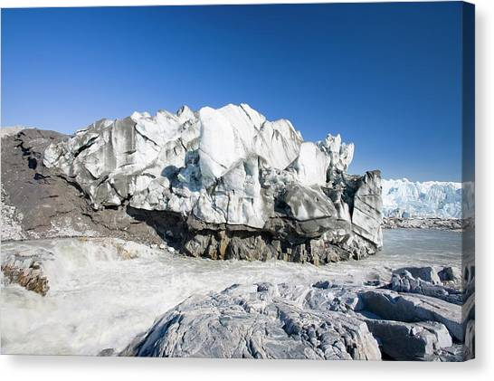 Greenland Canvas Print - The Russell Glacier by Ashley Cooper