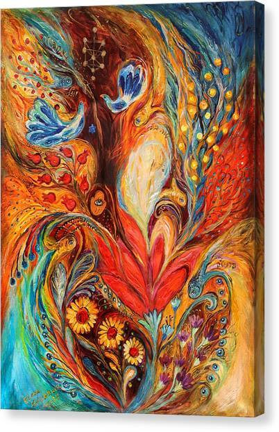 Giclee On Canvas Print - The Tree Of Life by Elena Kotliarker