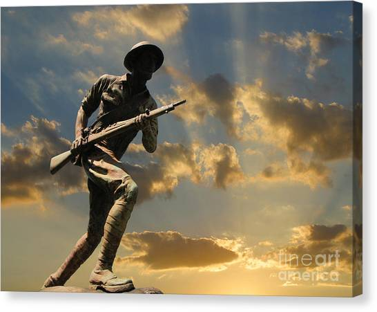 The Unknown Soldier Canvas Print