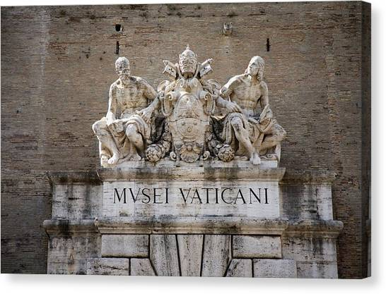 The Vatican Museum Canvas Print - The Vatican Museums, Musei Vaticani by Panoramic Images