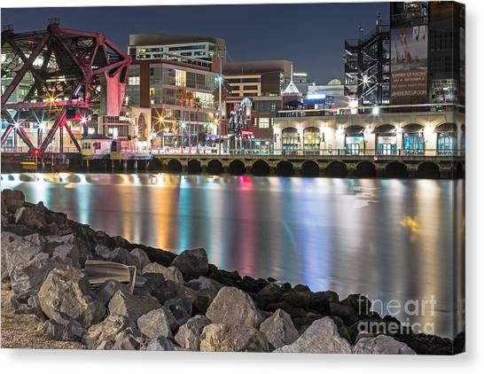 Canvas Print featuring the photograph Third Street Bridge by Kate Brown