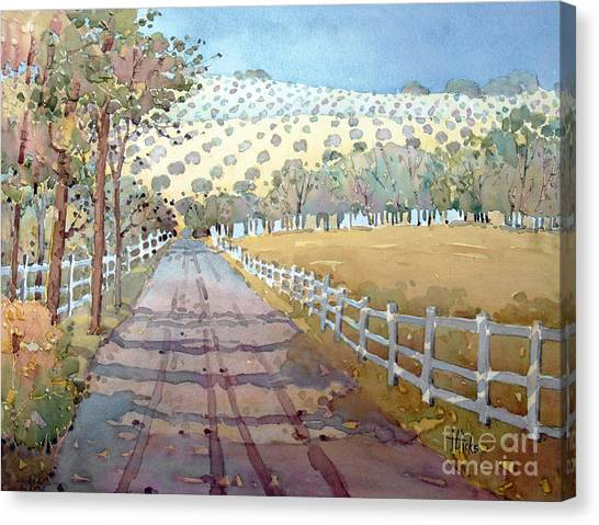 This Way To The Vineyard Canvas Print
