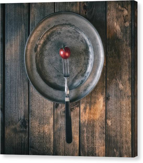 Cherry Tomato Canvas Print - Tomato by Joana Kruse