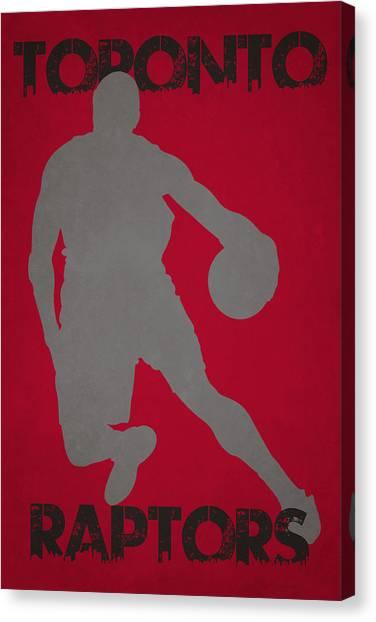 Toronto Raptors Canvas Print - Toronto Raptors by Joe Hamilton