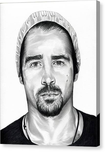 Total Recall  Colin Farrell Canvas Print