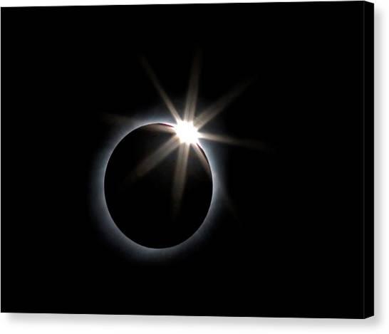 Solar Eclipse Canvas Print - Total Solar Eclipse by Babak Tafreshi