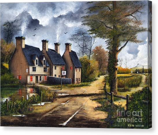 Travellers Rest Canvas Print