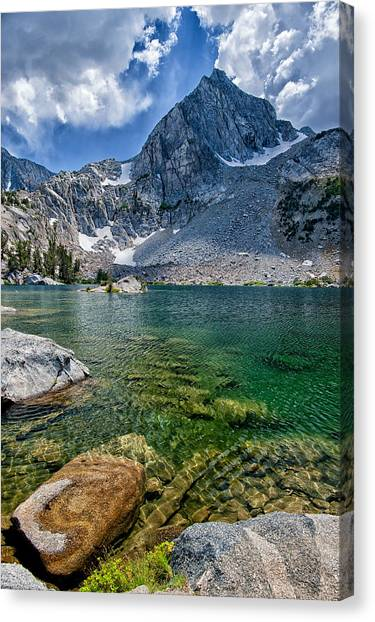 Treasure Lakes Canvas Print