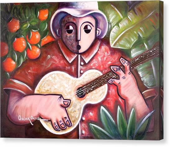 Trovando En Las Marias Canvas Print