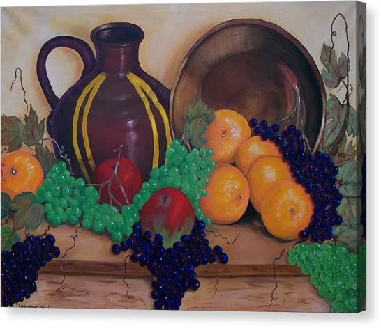 Tuscany Treats Canvas Print