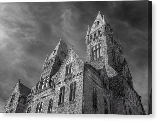 Buffalo ny canvas print twin towers by guy whiteley