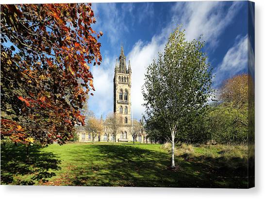 University Of Glasgow Canvas Print