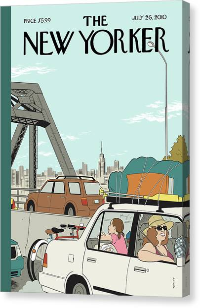 New Yorker July 26th, 2010 Canvas Print
