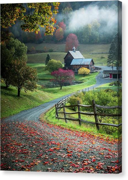 Countryside Canvas Print - Untitled by David H Yang