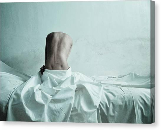 Mood Canvas Print - Untitled by Mojgan