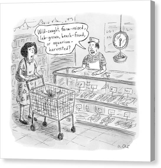New Yorker November 7th, 2016 Canvas Print