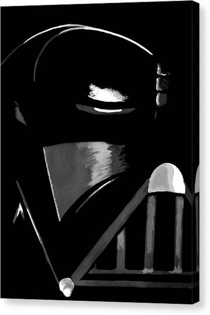 Jedi Canvas Print - Vader by Dale Loos Jr