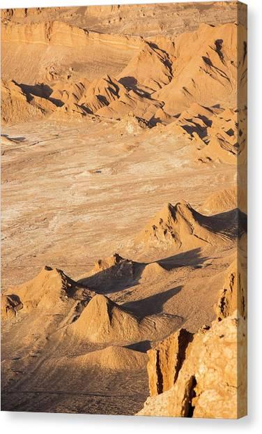 Atacama Desert Canvas Print - Valle De La Luna by Peter J. Raymond