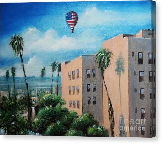 View From Olympic Boulevard Canvas Print