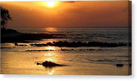 Waikoloa Sunset Canvas Print