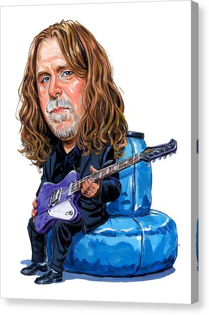 The Allman Brothers Canvas Print - Warren Haynes by Art