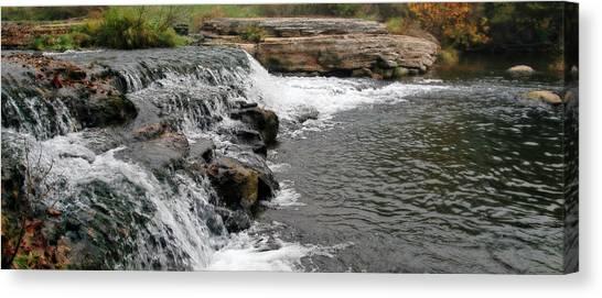 Spring Creek Waterfall Canvas Print