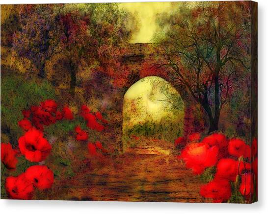 Ye Olde Railway Bridge Canvas Print