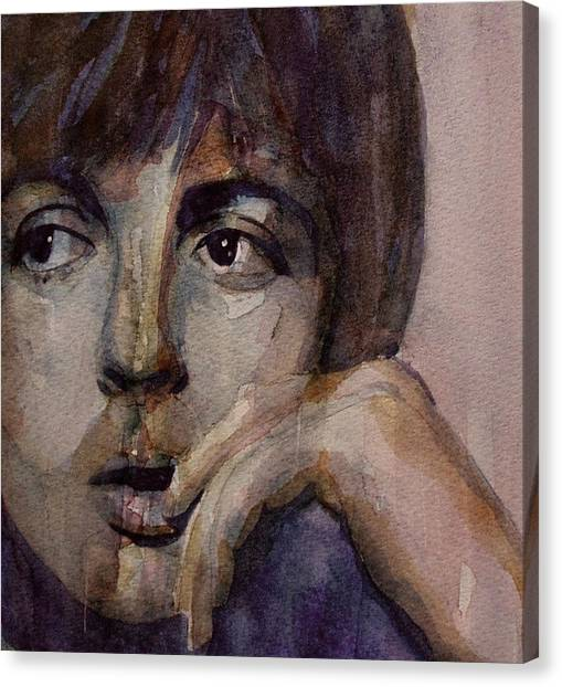 Paul Mccartney Canvas Print - Yesterday by Paul Lovering
