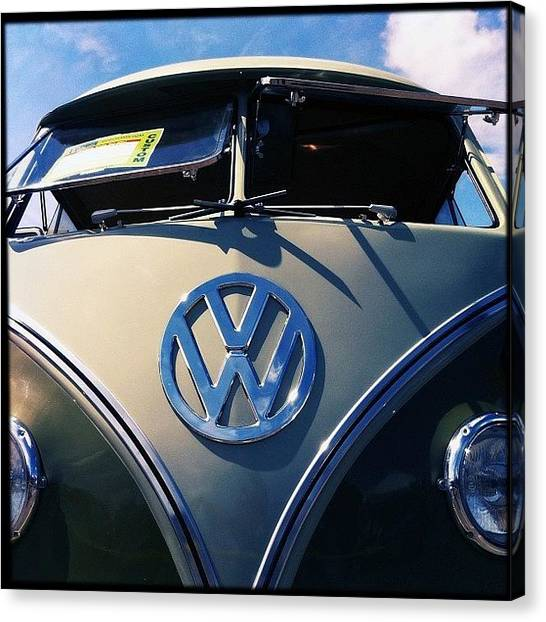 Vw Bus Canvas Print - #bugorama #2013 #vw #vwlove by Exit Fifty-Seven