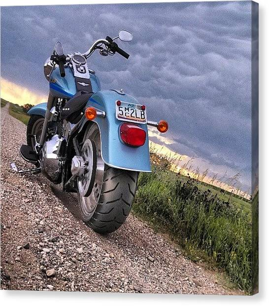 Dirt Road Canvas Print - Instagram Photo by Aaron Kremer