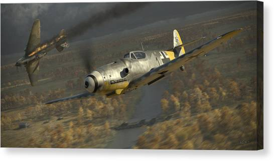 Ace Canvas Print - 200 by Robert Perry