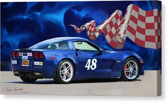 2007 Z06 Corvette Canvas Print