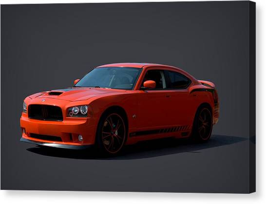2009 Dodge Srt8 Super Bee Canvas Print by Tim McCullough