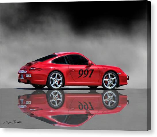2009 Porsche Carrera Canvas Print