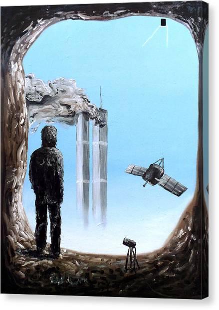 2012-confronting Inevitability Canvas Print