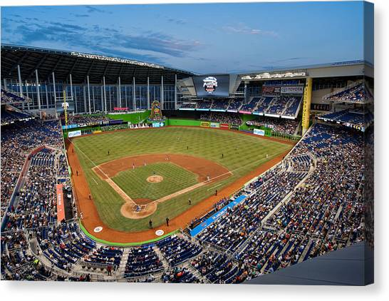 2012 Marlins Park Canvas Print