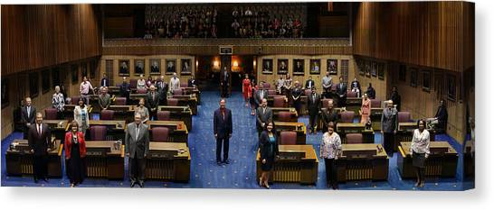 2013 Arizona Senate Portrait Canvas Print
