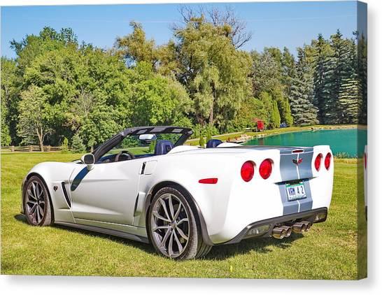 2013 Corvette 427 Sixtieth Anniversary Special Canvas Print