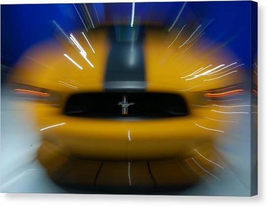 2013 Ford Mustang Canvas Print