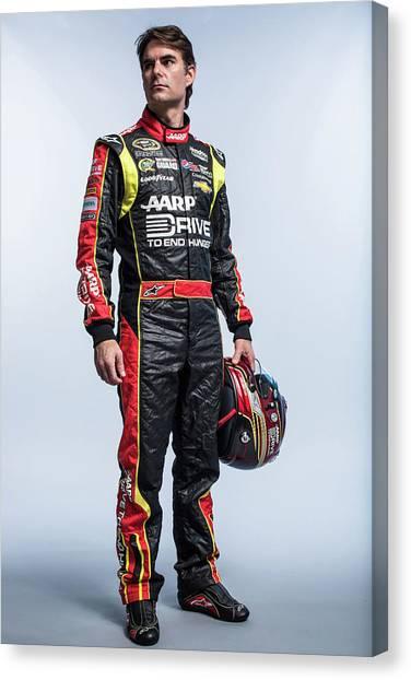 2013 Nascar Sprint Cup Series Stylized Canvas Print
