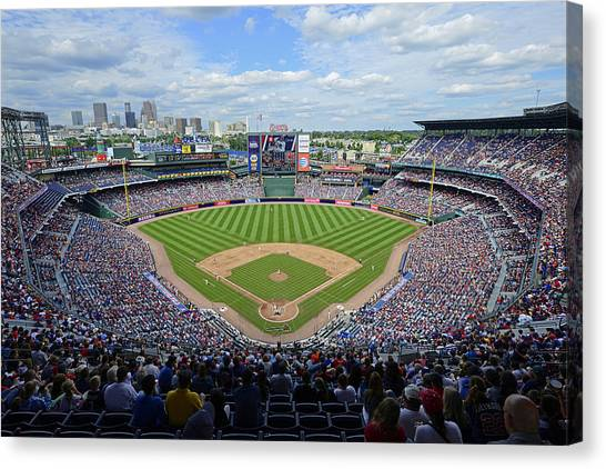 2013 Turner Field Canvas Print