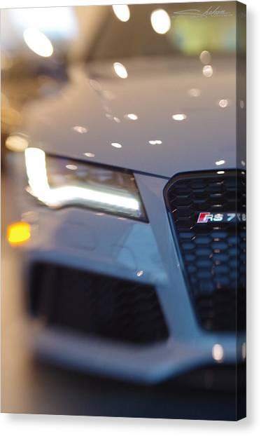 2014 Audi Rs7 Nardo Grey Canvas Print