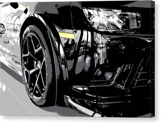 2014 Chevrolet Camaro Z28 Xl Canvas Print