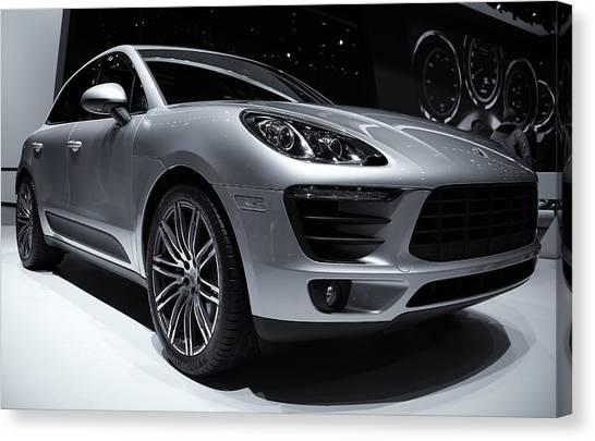 2014 Porsche Macan Canvas Print