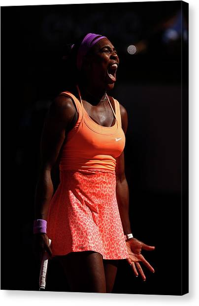 2015 French Open - Day Fourteen Canvas Print